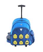 Lego Faces Blue - Trolley batoh