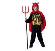 Karnevalový kostým ČERT, Vel. 120 - 130 cm