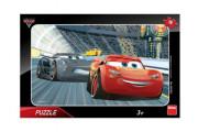 Puzzle deskové Auta/Cars 3 Disney 15 dílků 30x19cm