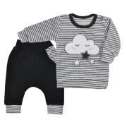 Kojenecké semiškové tepláčky a tričko Koala Cute Cloud