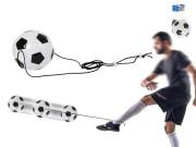 Fotbalový trenažér míč 19 cm na pružném laně