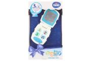 Baby telefon modrý se zvuky