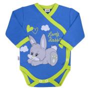 Dětské body s bočním zapínáním New Baby Lovely Rabbit