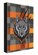 Desky na sešity A5 vlk