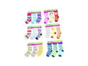 Dětské ponožky 2-3 roky Pidilidi 3 páry v balení (vel. 92/98)
