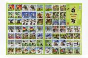 Pexeso Krtek papírové společenská hra 32 obrázkových dvojic