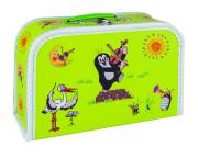 Dětský kufřík 30 cm Krtek a housličky - zelený