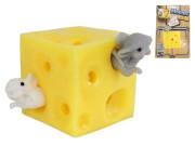 Sýr strečový 5 cm + 2 myšky