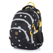 Školní batoh OXY SCOOLER Daisy black