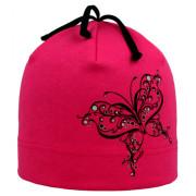 Dívčí čepice Motýl RDX