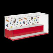 Herní a sběratelská skříňka LEGO ICONIC - Červená