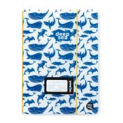 Sešit PP Oxybook A5 40 listů Deep sea