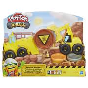 Play Doh Wheels Těžba