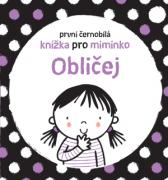 První černobílá knížka pro miminko Obličej
