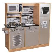 Derrson XXL Dřevěná kuchyňka Modern natural