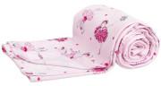 Lehká letní deka 130x200 cm růžové baletky