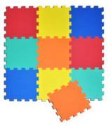 Pěnové puzzle 32x32cm 10ks jednobarevné