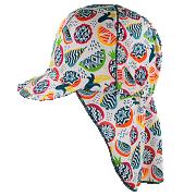 Funkční dívčí kšiltovka s plachetkou Ananas Coolmax RDX