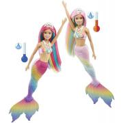 Barbie Duhová mořská panna GTF89