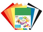 Sada barevných papírů pěnové A4