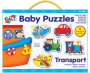 Puzzle pro nejmenší – dopravní prostředky 2.
