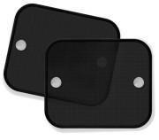 Stínítko na okno auta 2 ks černá
