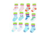 Kojenecké ponožky chlapecké PD502 6 - 12 měs. Pidilidi