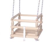 Houpačka Baby dřevěná 33x30cm nosnost 80kg