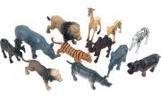 Zvířátka v tubě - safari 12 ks, mobilní aplikace pro zobrazení zvířátek