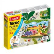 Quercetti Tecno Puzzle 33 ks