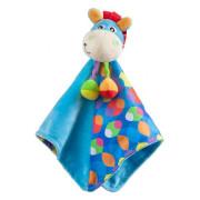 Playgro - Mazlící dečka oslík modrý