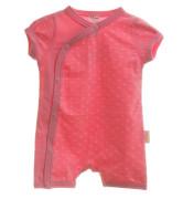 Overal letní kojenecký srdíčka krátký rukáv/nohavice MKcool