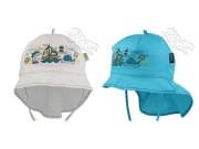 Chlapecký letní vázací klobouk s plachetkou Moře RDX