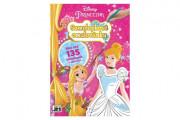 Samolepková omalovánková knížka Princezny Disney