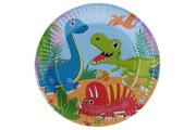 Párty tácky Dino 6 ks