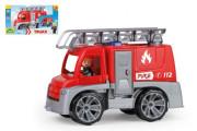 Auto Truxx hasiči plast 29 cm s figurkou