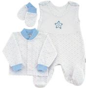 Souprava do porodnice 3 dílná Hvězdička Modrá Esito