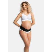 Těhotenský nastavitelný podpůrný pás pod bříško - ČERNÝ