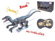 R/C dinosaurus 45 cm 2,4GHz se světlem a zvukem