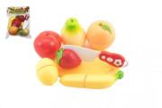 Ovoce krájecí plast s prkénkem s nožem