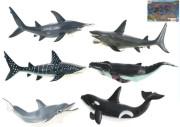 Sada zvířátek Oceán 21-23 cm 6 ks