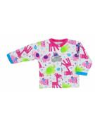 Kojenecký kabátek Bobas Fashion Zoo růžový