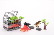Dinosauři v kleci s příslušenstvím