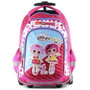Školní batoh trolley Lalaloopsy - Textilní nášivka