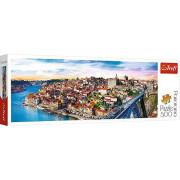 Puzzle Porto, Portugalsko panorama 500 dílků