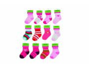 Kojenecké ponožky dívčí PD503 6 - 12 měs. Pidilidi