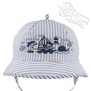Chlapecký klobouk vázací Proužek RDX