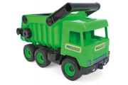 Wader Middle Truck sklápěč 36 cm zelený