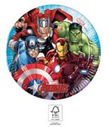 EKO papírové talíře - Avengers 20 cm/8 ks