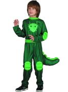 Šaty na karneval - krokodýl, 130-140 cm